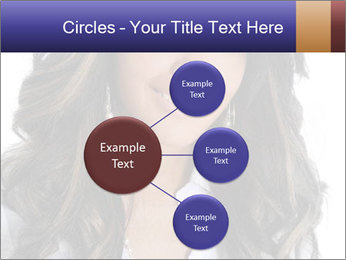 Beautiful American woman PowerPoint Template - Slide 79