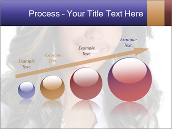 Beautiful American woman PowerPoint Template - Slide 87