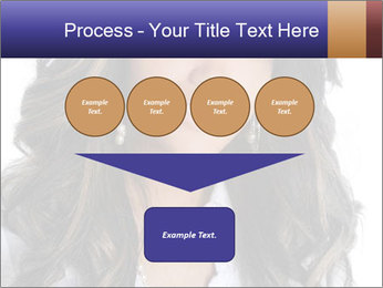 Beautiful American woman PowerPoint Template - Slide 93