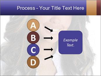 Beautiful American woman PowerPoint Template - Slide 94