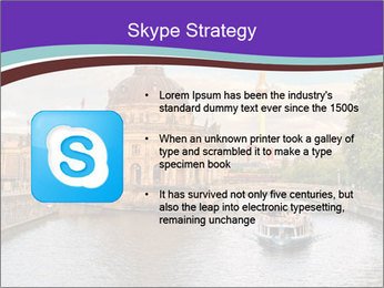 Museum island PowerPoint Template - Slide 8
