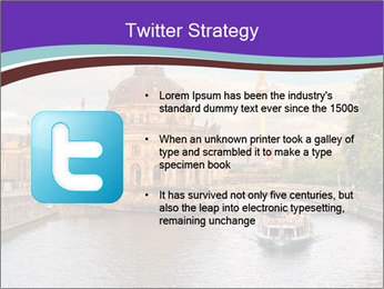 Museum island PowerPoint Template - Slide 9