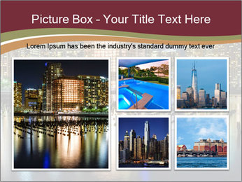 Newport section of Jersey City PowerPoint Template - Slide 19
