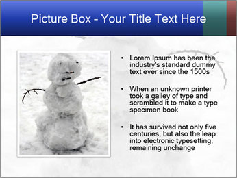A lonely snowman PowerPoint Template - Slide 13