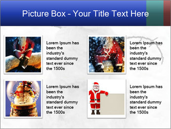 A lonely snowman PowerPoint Template - Slide 14