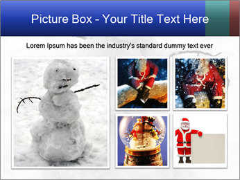 A lonely snowman PowerPoint Template - Slide 19