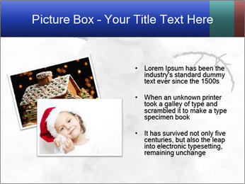 A lonely snowman PowerPoint Template - Slide 20