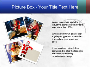 A lonely snowman PowerPoint Template - Slide 23