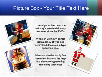 A lonely snowman PowerPoint Template - Slide 24
