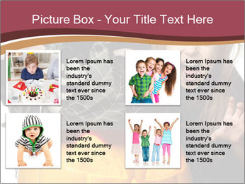 Boy and girl wearing halloween PowerPoint Template - Slide 14