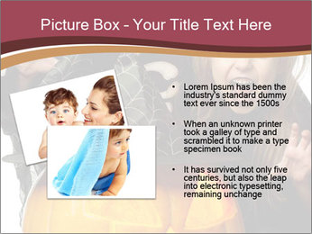 Boy and girl wearing halloween PowerPoint Template - Slide 20