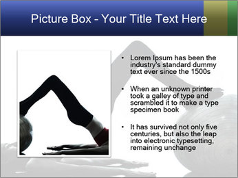 One caucasian woman PowerPoint Templates - Slide 13