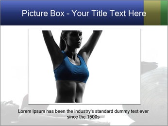 One caucasian woman PowerPoint Templates - Slide 16