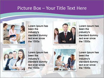 Lovely business ladies PowerPoint Template - Slide 14