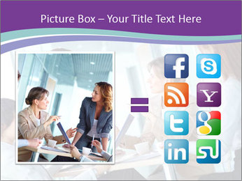 Lovely business ladies PowerPoint Template - Slide 21