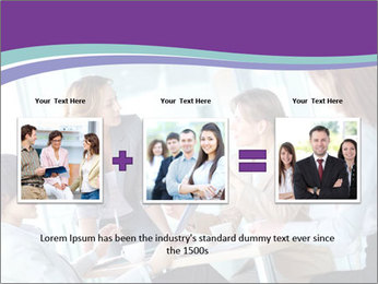 Lovely business ladies PowerPoint Template - Slide 22