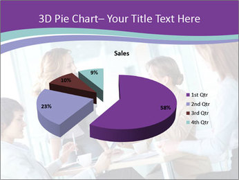 Lovely business ladies PowerPoint Templates - Slide 35