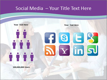 Lovely business ladies PowerPoint Templates - Slide 5
