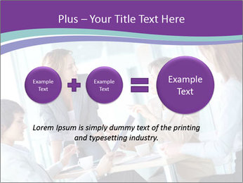 Lovely business ladies PowerPoint Template - Slide 75