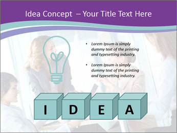Lovely business ladies PowerPoint Template - Slide 80