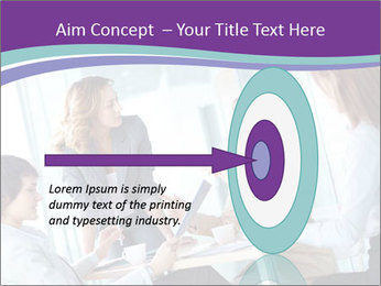 Lovely business ladies PowerPoint Templates - Slide 83