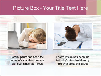 Bald office worker PowerPoint Template - Slide 18