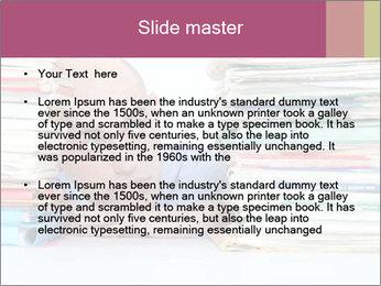 Bald office worker PowerPoint Template - Slide 2