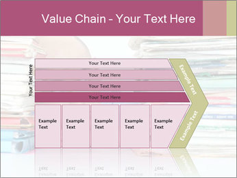 Bald office worker PowerPoint Template - Slide 27