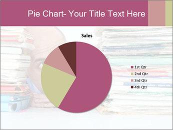 Bald office worker PowerPoint Template - Slide 36