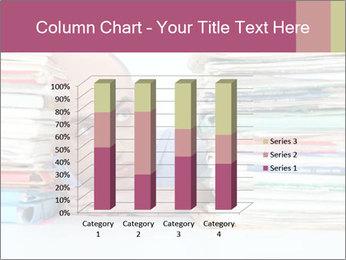 Bald office worker PowerPoint Template - Slide 50