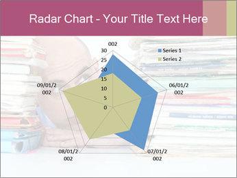 Bald office worker PowerPoint Template - Slide 51