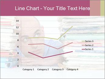 Bald office worker PowerPoint Template - Slide 54
