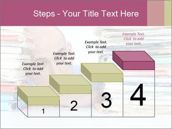 Bald office worker PowerPoint Template - Slide 64