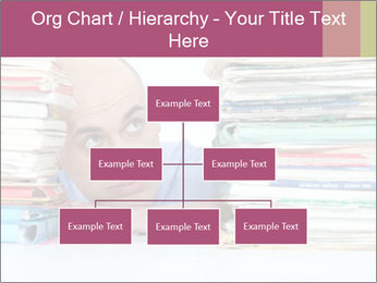 Bald office worker PowerPoint Template - Slide 66