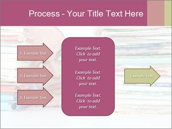 Bald office worker PowerPoint Template - Slide 85