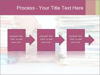 Bald office worker PowerPoint Template - Slide 88