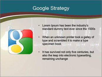 Light bulbs PowerPoint Template - Slide 10