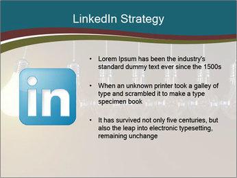Light bulbs PowerPoint Template - Slide 12