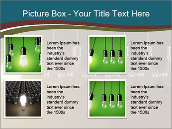 Light bulbs PowerPoint Template - Slide 14
