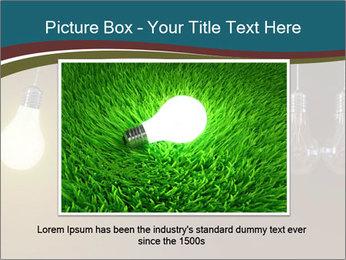 Light bulbs PowerPoint Template - Slide 15