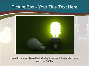Light bulbs PowerPoint Template - Slide 16