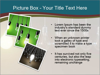 Light bulbs PowerPoint Template - Slide 17