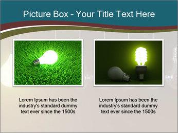 Light bulbs PowerPoint Template - Slide 18