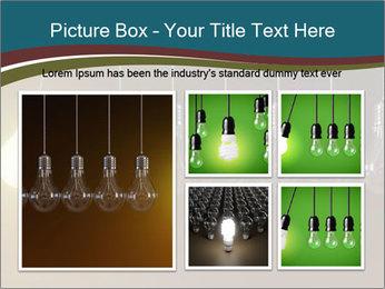 Light bulbs PowerPoint Template - Slide 19
