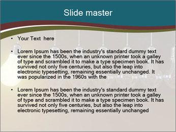 Light bulbs PowerPoint Template - Slide 2