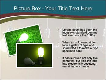 Light bulbs PowerPoint Template - Slide 20