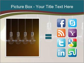 Light bulbs PowerPoint Template - Slide 21