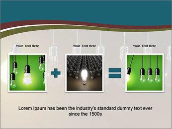 Light bulbs PowerPoint Template - Slide 22