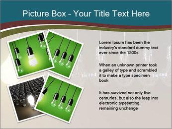Light bulbs PowerPoint Template - Slide 23