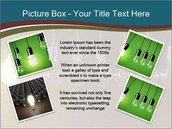 Light bulbs PowerPoint Template - Slide 24
